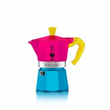 Bình pha cà phê cầm tay Bialetti -Moka màu vàng 3 cup/750ml- 0005822