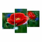 Dyvina 3T-22 đồng hồ tranh Hoa đỏ