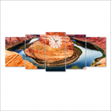 Dyvina 5T-7 đồng hồ tranh Non nước hữu tình