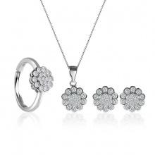 Bộ trang sức bạc Kenvin Love - Eropi Jewelry