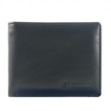 HV2102 - Bóp nam Huy Hoàng da bò màu đen