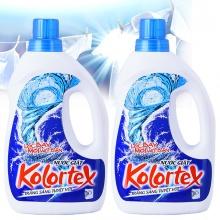 Bộ 2 chai nước giặt KOLORTEX® trắng sáng tuyệt vời (1 lít/chai)