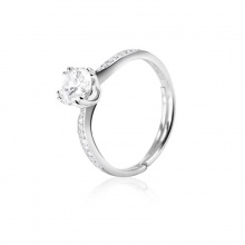 Nhẫn bạc Love Love Love - Eropi Jewelry