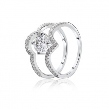 Nhẫn bạc Sumi -  Eropi Jewelry