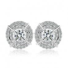 Bông tai bạc Daen Love - Eropi Jewelry
