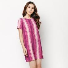 Đầm suông họa tiết HK 531