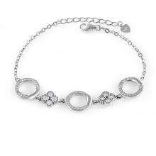 Lắc tay bạc Twinkle - Eropi Jewelry