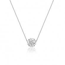 Dây chuyền bạc Snowball - Eropi Jewelry