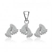 Bộ trang sức bạc The Feet - Eropi Jewelry