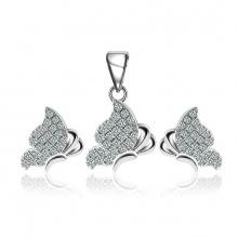 Bộ trang sức bạc Blooming Love - Eropi Jewelry