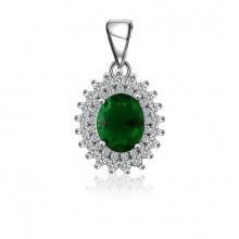 Mặt dây chuyền bạc Olaf Love - Eropi Jewelry