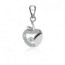 Mặt dây chuyền bạc White Apple - Eropi Jewelry