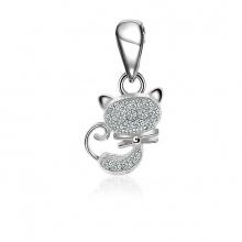 Mặt dây chuyền bạc Love To Cat - Eropi Jewelry