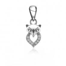 Mặt dây chuyền bạc Happy Fox - Eropi Jewelry