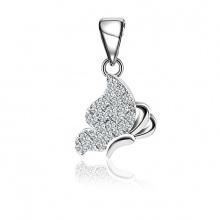 Mặt dây chuyền bạc Linda Butterfly - Eropi Jewelry