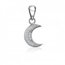 Mặt dây chuyền bạc Beauty Moon - Eropi Jewelry