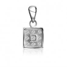 Mặt dây chuyền bạc Zed Love - Eropi Jewelry