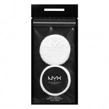 Bông phấn tròn NYX Professional Makeup Compact Powder Puff 2 chiếc ACC01