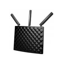 Thiết bị phát sóng WIFI chuẩn AC xuyên tường 3 anten, tốc độ 1900M model TENDA AC15