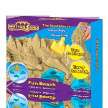 Cát chuyển động bộ chơi cát tạo hình lâu đài và động vật biển MS-10