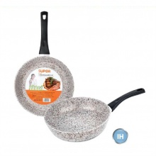 Chảo vân đá chống dính dùng trên bếp từ Supor Rock F23A24IH-24cm