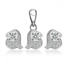 Bộ trang sức bạc Riley - Eropi Jewelry