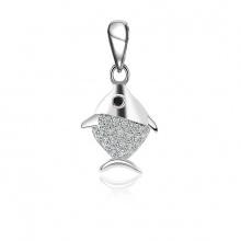 Mặt dây chuyền bạc Evelyn - Eropi Jewelry