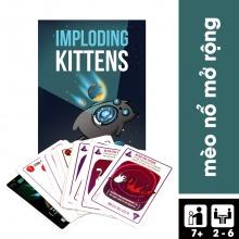 Trò chơi boardgame Mèo nổ mở rộng