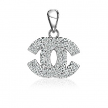EROPI-Mặt dây chuyền bạc Aly Chanel