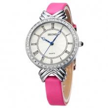 Đồng hồ nữ Skone 9092-1 màu hồng