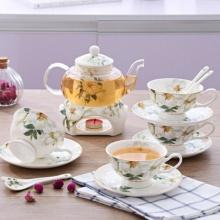 Bộ ấm trà nến Hoa Mai