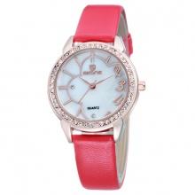 Đồng hồ nữ Skone 9259 màu hồng đậm
