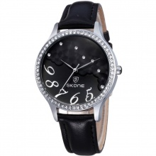 Đồng hồ nữ Skone 9282 màu đen