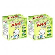 Bộ 2 bột  giặt cao cấp AHA baby 420g