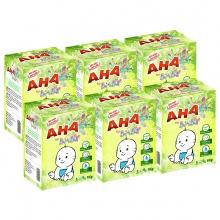 Bộ 6 bột giặt cao cấp AHA baby 1kg