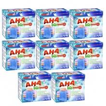 Bộ 8 bột giặt cao cấp AHA bio 1kg