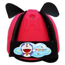 Nón bảo vệ đầu cho bé Babyguard - logo Doraemon 1 hồng