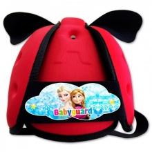 Nón bảo vệ đầu cho bé Babyguard - logo Elsa đỏ
