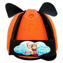 Nón bảo vệ đầu cho bé Babyguard - logo Elsa cam