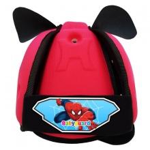 Nón bảo vệ đầu cho bé Babyguard - logo người nhện hồng