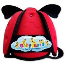 Nón bảo vệ đầu cho bé Babyguard - đỏ