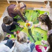 Đồ chơi Fun color Frog game - VK1104
