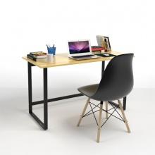 Bộ bàn Rec-F đen 1m2 và ghế Eames đen - IBIE