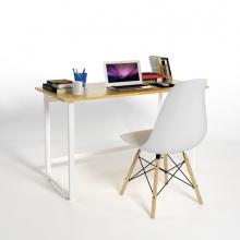 Bộ bàn Rec-F trắng 1m2 và ghế Eames trắng - IBIE