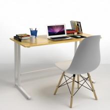 Bộ bàn Rec-U trắng 1m2 và ghế Eames trắng - IBIE