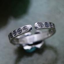 Nhẫn bạc nam Tỳ Hưu handmade Hadosa