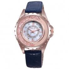 Đồng hồ nữ Skone 9303 màu xanh đen