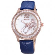 Đồng hồ nữ SKONE 9346 màu xanh