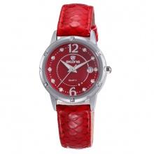 Đồng hồ nữ Skone  9351 màu đỏ