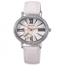 Đồng hồ nữ SKONE 9369 màu trắng